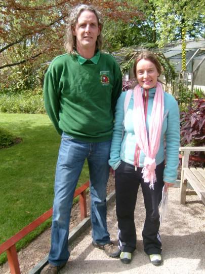 Nick Reynolds vertritt den World Parrot Trust in Grossbritannien, die weltweit grösste Papageienschutzorganisation, die von seinem Vater Mike Reynolds ins Leben gerufen wurde